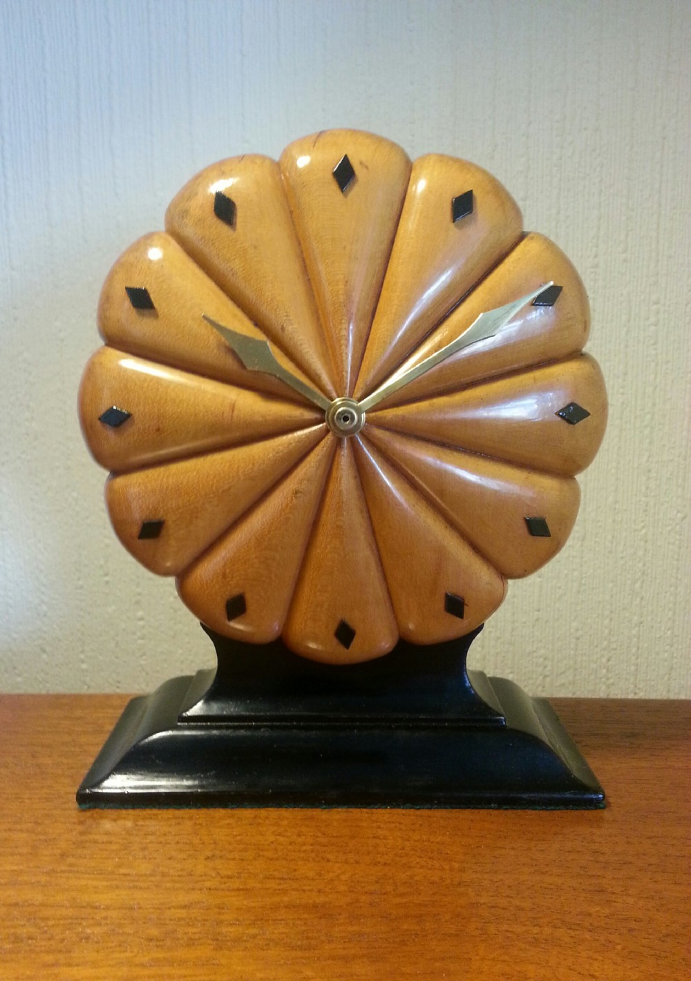 art deco clock