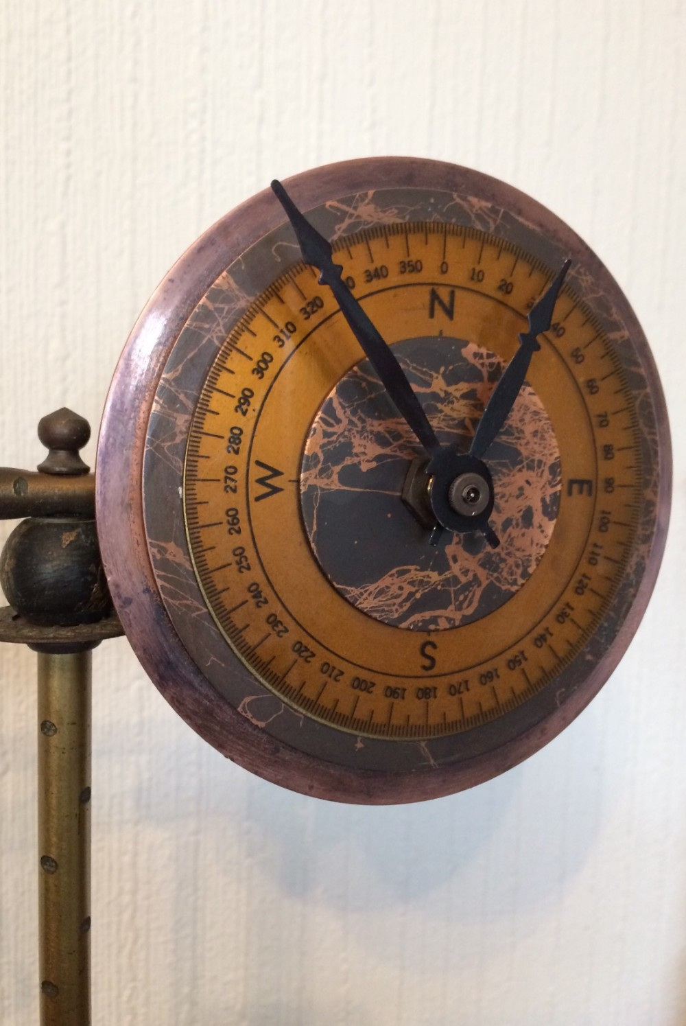 heather ramsay parvenue compass clock