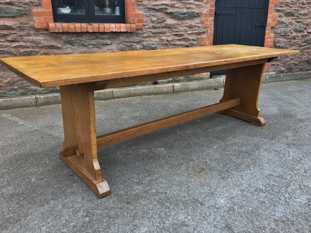 oak refectory table farm table 8 feet long seats 10