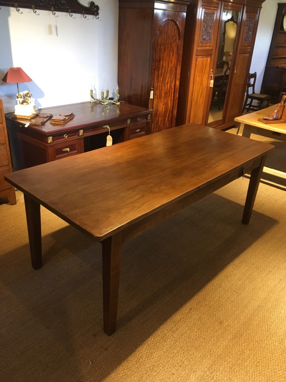 cherrywood farmhouse table
