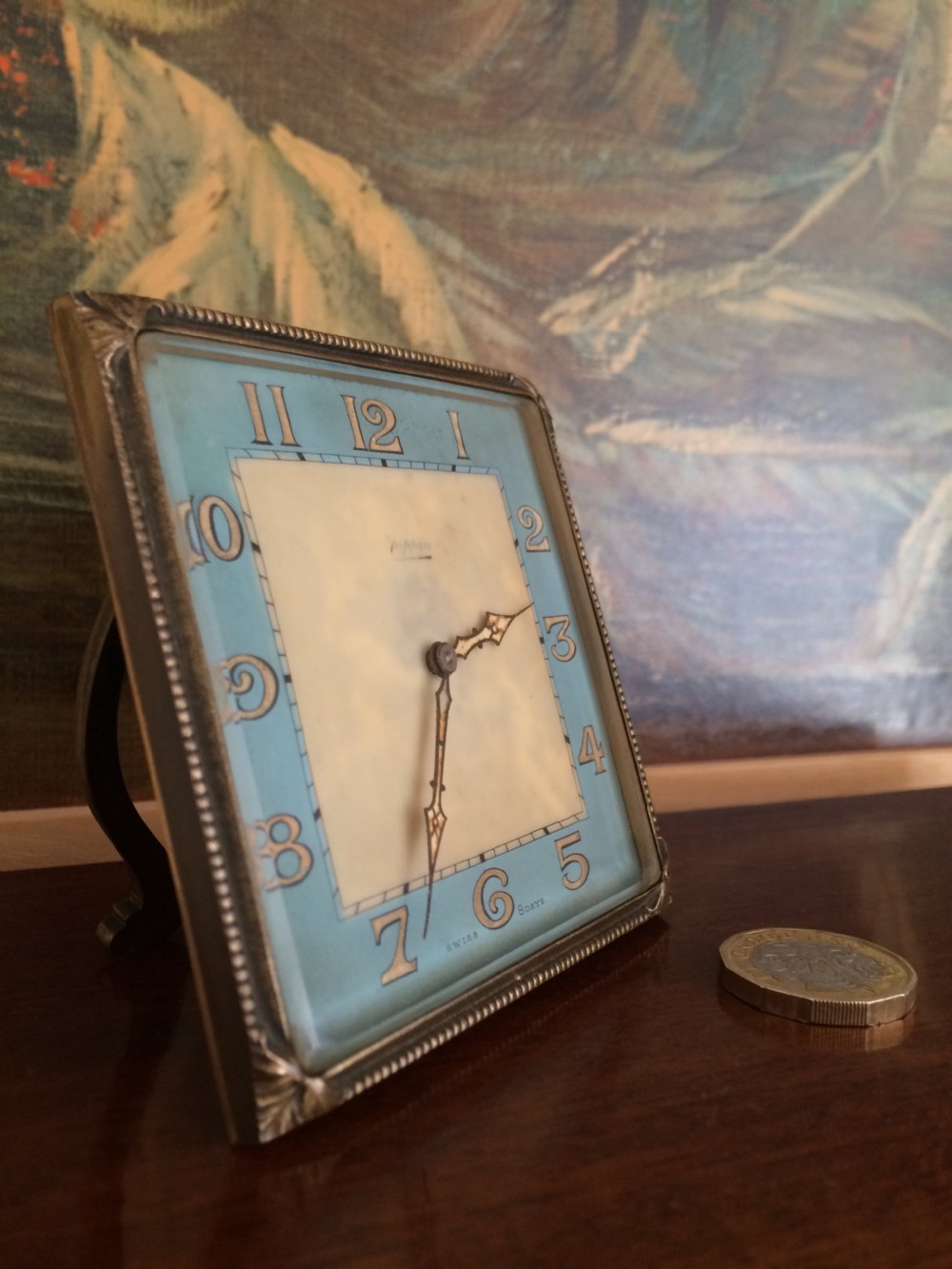 mappin 1920s clock