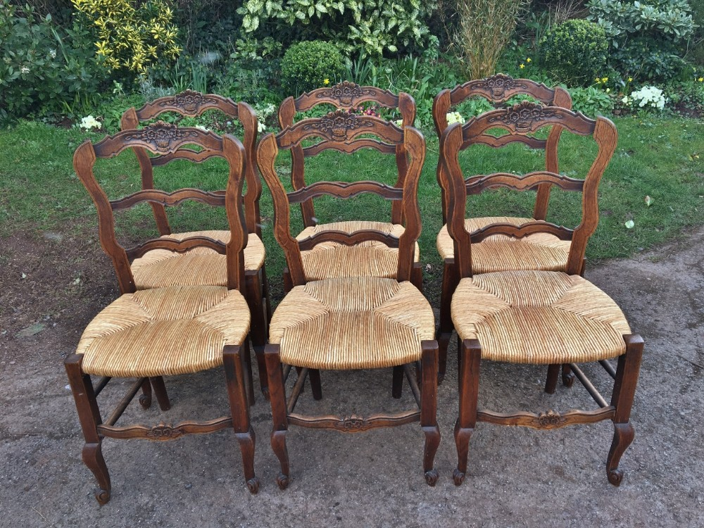 french kitchen chairs 6 c 1930 art deco period