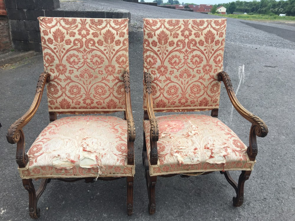armchairs french c 1900