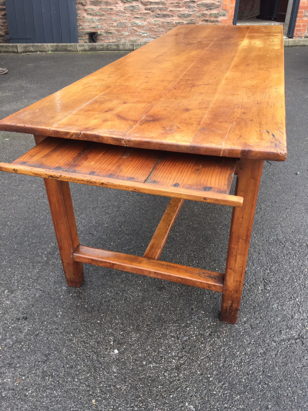 farmhouse table in cherry wood french c 1860