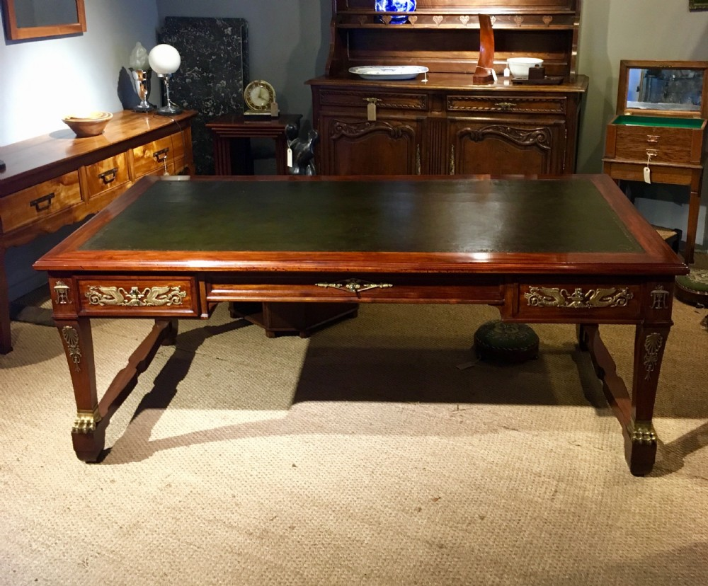 large writing desk