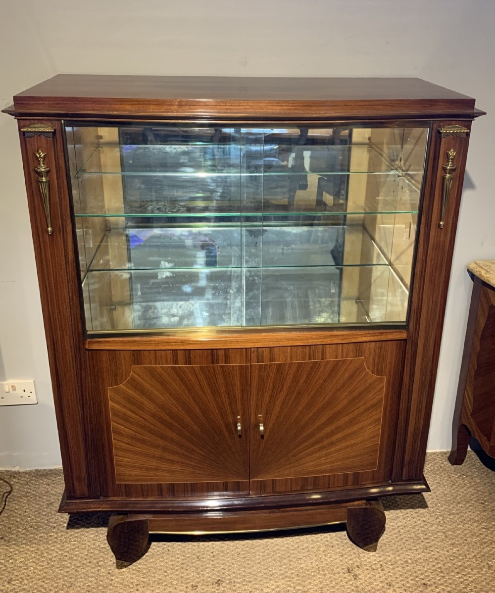 mid century modern display cabinet cocktail cabinet